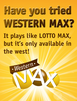 Western max lottery prizes for mega